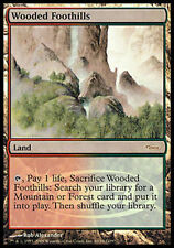 FOIL PROMO DCI Colline Boscose - Wooded Foothills MTG MAGIC English