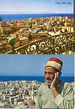 ISRAEL 1960's  ACRE VIEWS POST CARDS SET OF 2  UN-USED