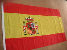 SPAIN (CREST) FLAG 3 x 2 BRAND NEW EYELETS POLYESTER POST FREE IN UK