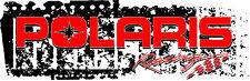 Polaris Window Graphic Decals Perforated Full Color Custom Racing