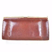 1970s Leather Clutch Vintage Bags & Cases