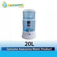 NEW AWESOME WATER Bench Top Water Purifier 8 Stage Plus fluoride removal