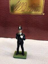 W. BRITAINS LONDON POLICE MAN  METAL TOY SOLDIER