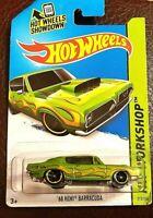Hot Wheels HW Showroom '68 HEMI BARRACUDA Heat Fleet - 2013 Mattel - New
