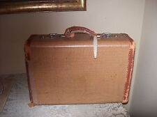 Vintage / Antique Suitcase with Broken Leather Handle