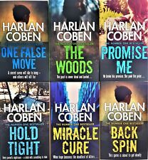 Harlan Coben Myron Bolitar series 7 books Collection Set New