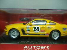 AUTOART 13722 ANALOGICO AUTO PISTA SLOTCAR FORD MUSTANG FR 500 C 1:3 2