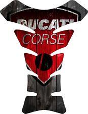 Protector de deposito gel Ducati retro madera , Ducati  tankpad wood