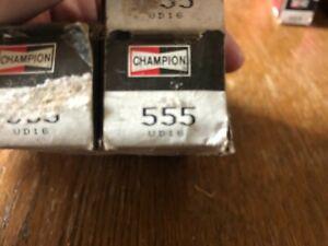 555 UD16 Champion Copper Plus Spark Plug