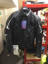 Bering Lynx Racing Black Men's Leather Jacket Size M NEW