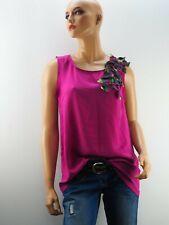 Damen Damenshirt Shirt Top NEU CKS Fuchsia Größe 38 M