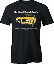 Triumph Dolomite Sprint Retro Car Seventies Ad T Shirt
