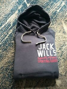 Jack Wills UK8 Ladies Hoodie Blue Sweatshirt