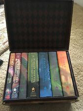 Harry Potter Books 7 Hardcover Limited Edition Boxed Complete Set Chest Lot