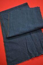 Vintage Japanese Fabric Cotton Antique Boro Patch Indigo Blue SHIMA/XB08/85