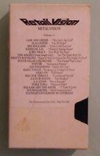 retail vision metalvision METAL VISION volume 11   VHS VIDEOTAPE