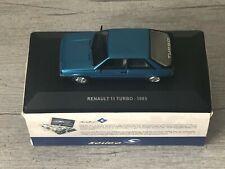 SOLIDO Renault 11 Turbo Bleu 1985 1/43