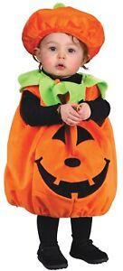Plush Pumpkin Infant Costume