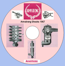 Girling Woodhead Shock Absorber X-Ref Lists Armstrong Monroe