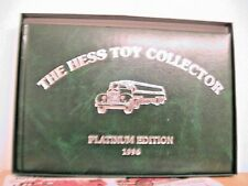 HESS 1996 TOY COLLECTOR PLATINUM EDITION TRUCK BOOK
