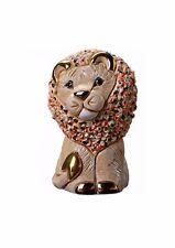 DE ROSA confetti LION (Bianco) FIGURINA Ornamento