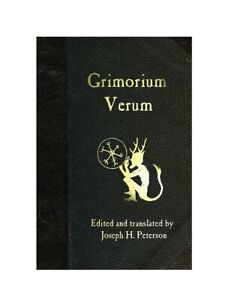 Grimorium Verum by Joseph h peterson Paperback Brand New book