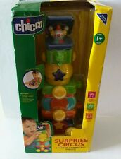 "Chicco Surprise Circus - STACK IT! CONNECT IT! PULL IT! ""NEW"" VERY HARD TO FIND"
