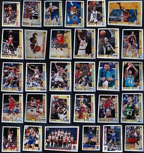 1991-92 Upper Deck Basketball Cards Set Complete Your Set You U Pick 251-500