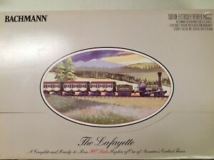 Ho Scale  Bachman The Lafayette  4-2-0 Electric Train  Complete Set