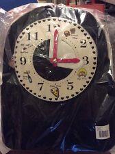 $118 Betsey Johnson Black Clock Backpack BUP#1