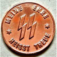 WW2 GERMAN COLLECTORS COMMEMORATIVE COIN S/S 1 SCHILLING KANTINEGELD