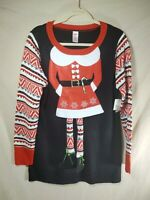 HOLIDAY TIME CHRISTMAS SWEATER SIZE L (12/14) Ugly Christmas Sweater