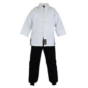 Playwell Kung Fu Uniform Mix Cotton Gi Kids Adults Martial Arts Suits Tai Chi