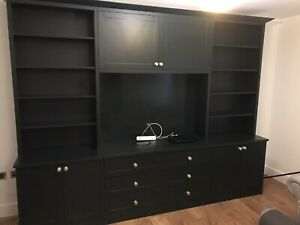 300cm Bookcase Unit Dresser Storage Cabinet | Any Colour | Bespoke Options