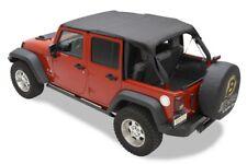 "Bikini header version: ""Safari"" , couleur: Black Diamond, Jeep Wrangler JK Unlim"