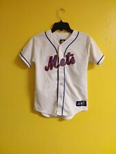 ⚾️ NEW YORK METS #57 JOHAN SANTANA MLB MAJESTIC JERSEY BOYS / GIRLS - M