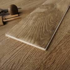 22CM Wide Handmade Finished Antique Engineered Wood Floor Industrial Style EC41