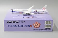 JC Wings 1:400 China Airlines Airbus A350-900 '60th Anniv. - Flaps Down' B-18917