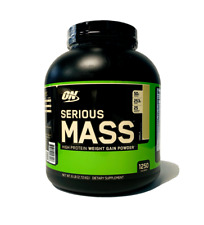 Optimum SERIOUS MASS 6 lbs Lean Muscle Weight Gainer Protein PICK FLAVOR