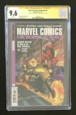Marvel Comics Presents 6 CGC 9.6 1st Rien SS Signed Arthur Adams & Charles Soule