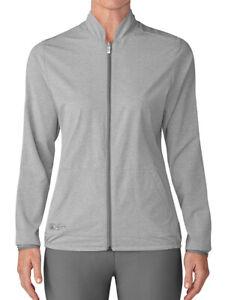 Adidas Reversible Fashion Wind Jacket - Grey Heather - XS - BNWT