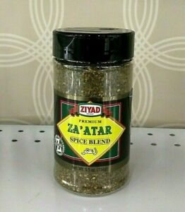 Ziyad Premium ZA'ATAR ZAATAR - Middle Eastern Cooking Essential Spice - 5.5 Oz