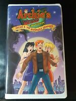 Archie's Weird Mysteries VHS Archie and The Riverdale Vampires 2000