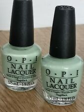 OPI Nail Polish pastel mint green Mini holiday Travel Size Gift Stocking Filler
