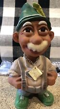 Vintage Heico German Nodder Bobble Head Troll Elder