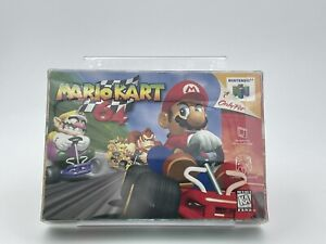 Mario Kart 64 (64, 1997) Complete CIB. In Case. Game, Box, Manual, Inserts, Mint