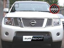 ZunSport Nissan Navara D40 MK2 2010-2013 Polished Steel Mesh Full Grille Set