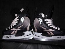 Reebok Hockey Skates Fitlite 1K Jr Youth size 3 J Unisex Hockey Black Euc