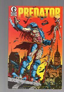 1st prints Predator 1 2 3 4  I LOVE DARK HORSE COMICS!! CHRIS WARNER 1989