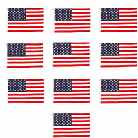 Wholesale lot 10 4' x 6' ft. USA US American Flag Stars Grommets United States